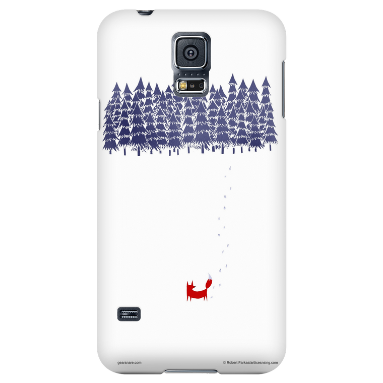 Fox from the Forest Phone Case