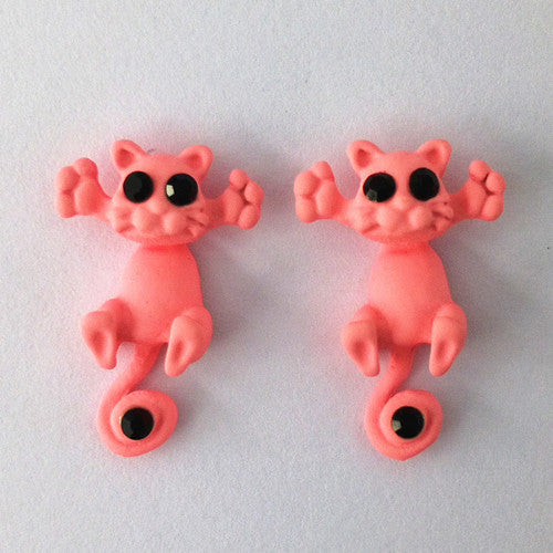 Cute Cartoon Cat Earrings