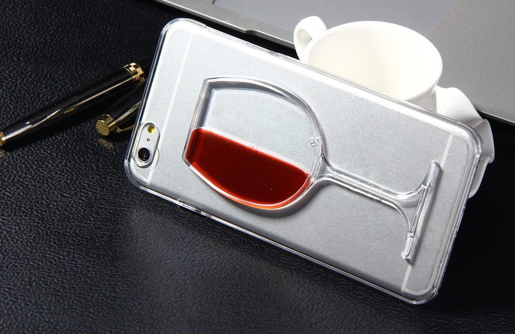 iPhone Case. Red or White Wine Glass Case -- SPECIAL OFFER
