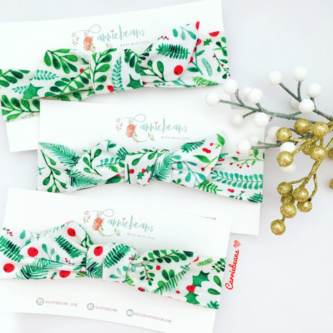 HEADBAND - Christmas Florals