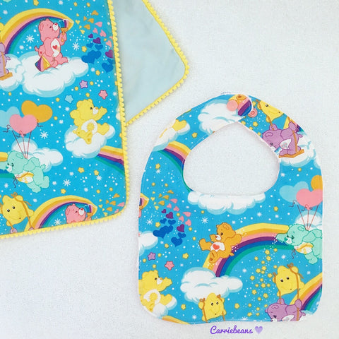 BIB (regular) - Rainbow Care Bears