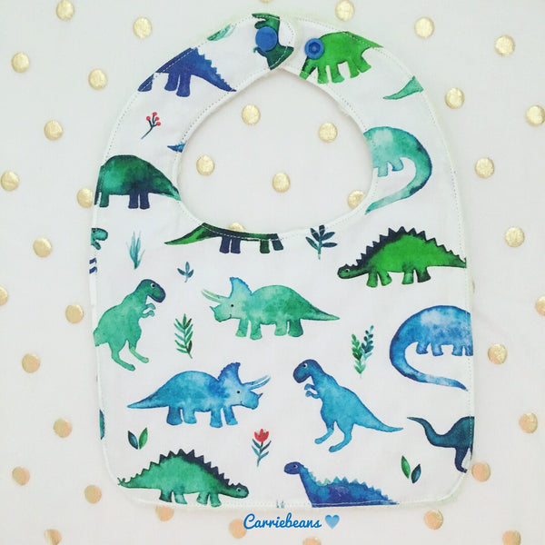 BIB - Watercolour Dino (on white)