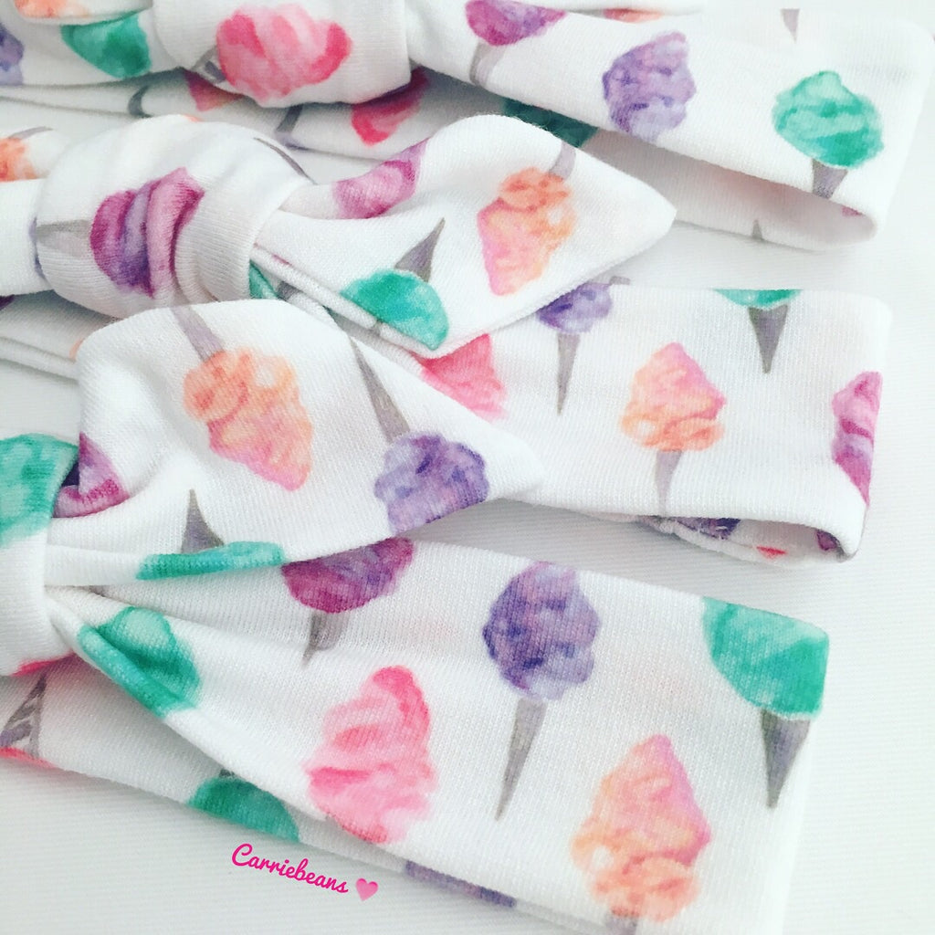 HEADBAND - Watercolour COTTON CANDY