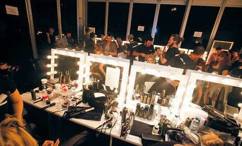 Fashion Week Makeup Station