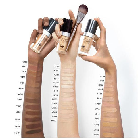 Make Up For Ever HD Liquid Foundation
