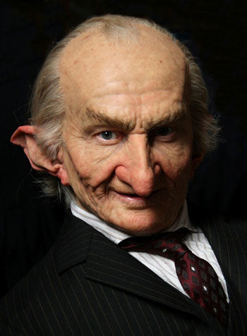 Goblin Makeup Created by Barrie Gower for Harry Potter