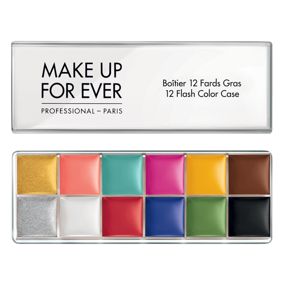 Make Up For Ever 12 Flash Colour Palette