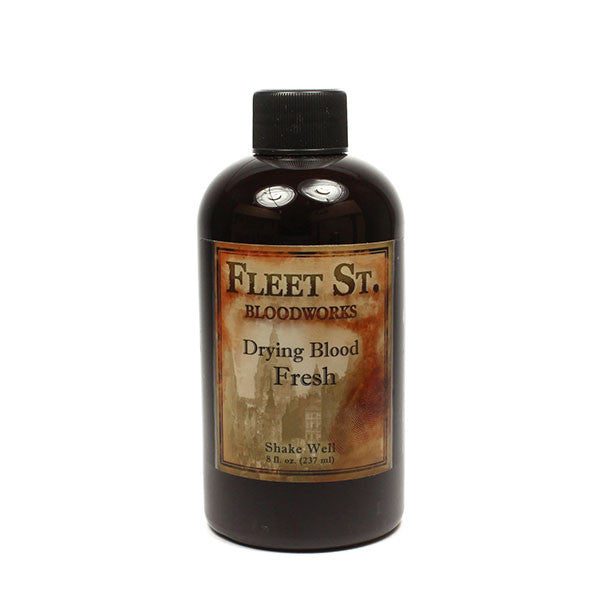 Fleet Street Bloodworks Drying Blood Fresh