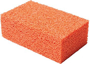Fine Orange Stipple Sponge
