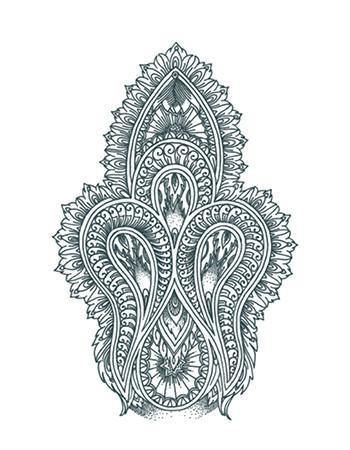 Tattooed Now! Mehdi Ornament (Large)