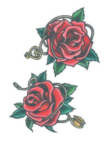 Tattooed Now! Red Red Roses