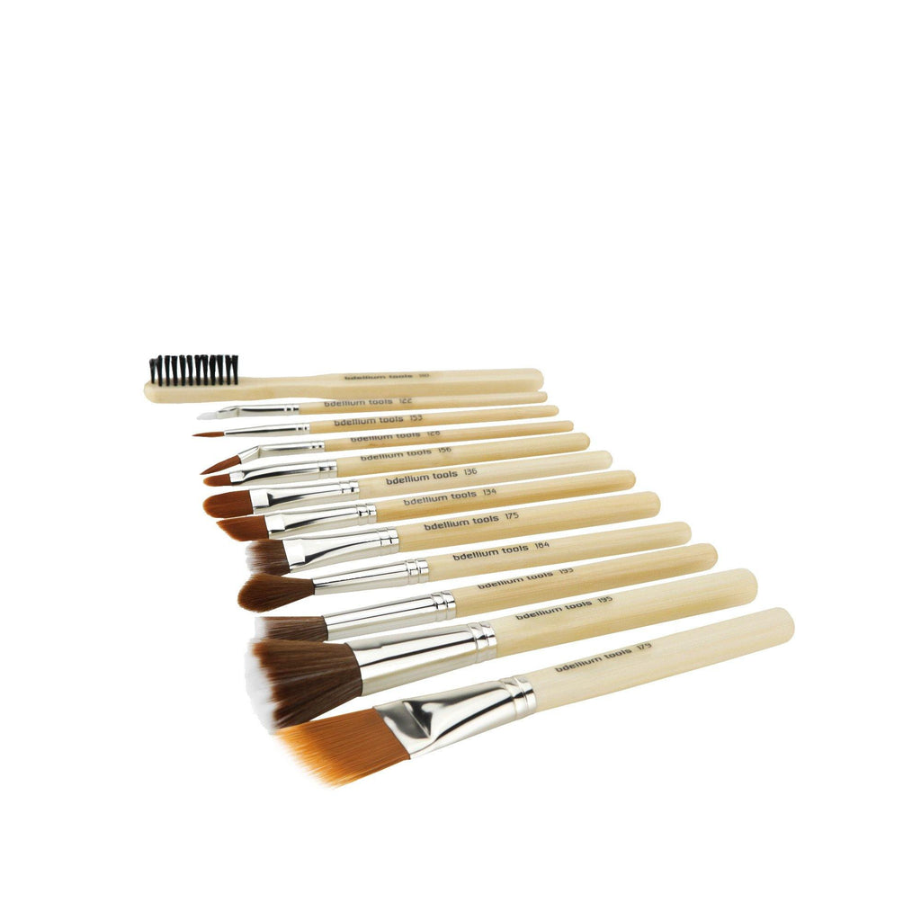 Bdellium SFX 12pc Brush Set with Double Pouch (1st Collection)