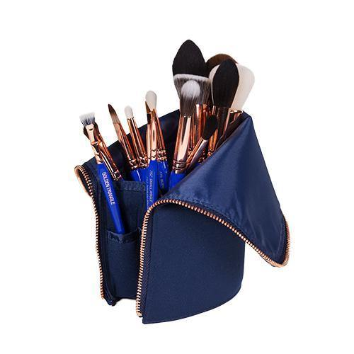 Bdellium Golden Triangle Phase 2 Brush Set with Pouch