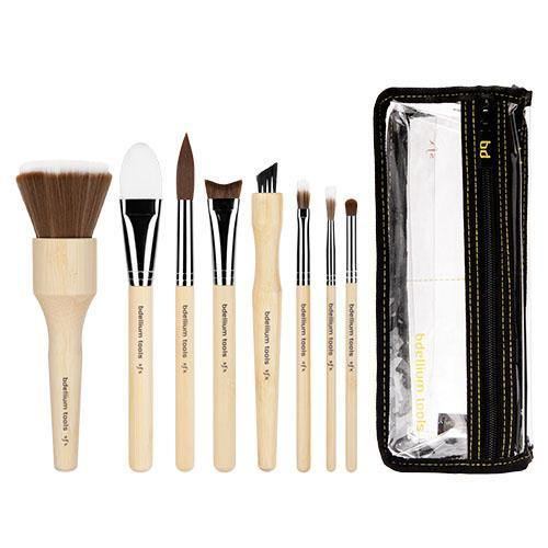 Bdellium SFX 8pc Brush Set with Double Pouch (3rd Collection)