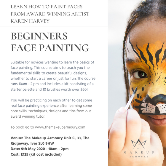 Beginners Face Painting Course - 9th May 2020
