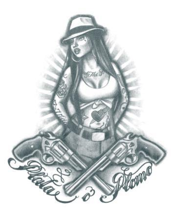Tattooed Now! Gangster Chola Girl