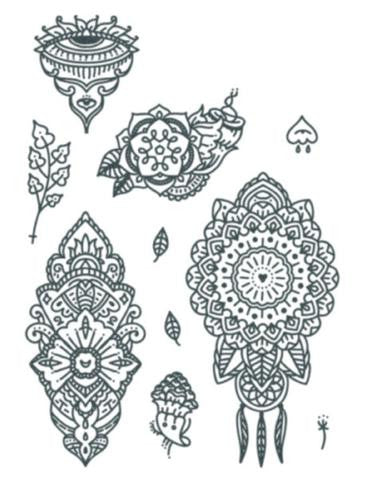 Tattooed Now! Mandala Set