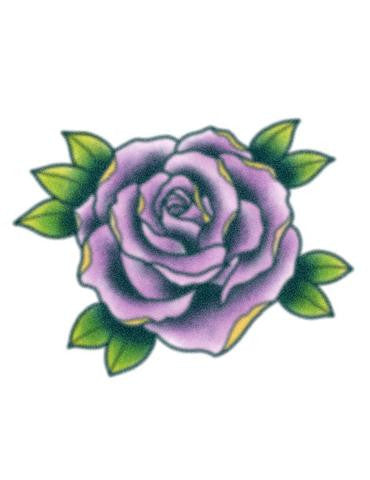 Tattooed Now! Purple Rose
