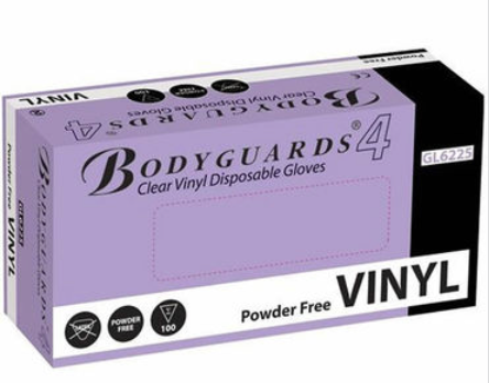 Vinyl Gloves Clear | pack of 100