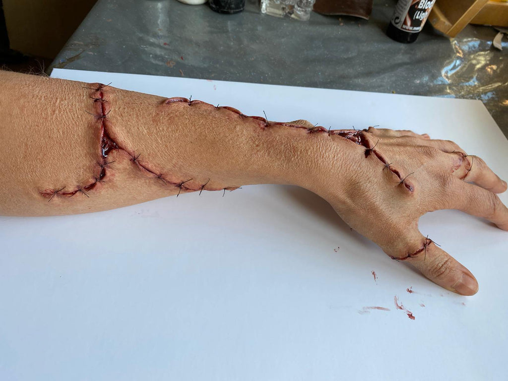 Silicone Stiches Prosthetic Set