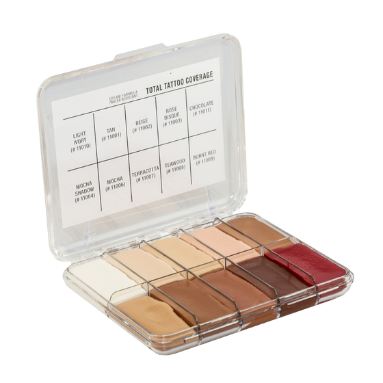 Jordane Cosmetics - MINI Total Tattoo Cover Palette Fleshtone