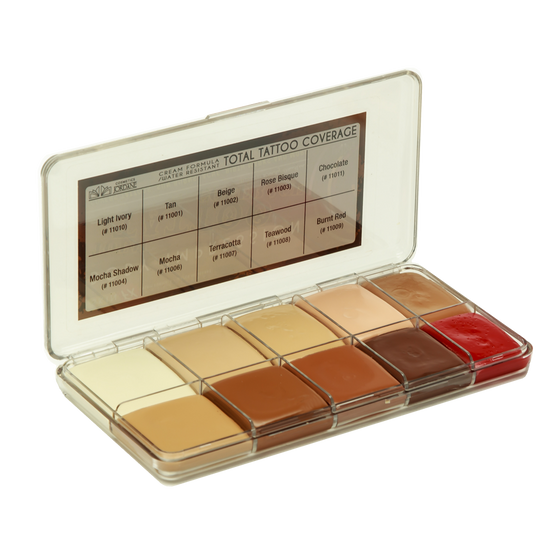Jordane Cosmetics - Total Tattoo Cover Palette Fleshtone