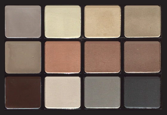 Viseart Brow Palette Structure 00