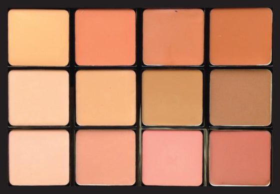 Viseart Muse Nudes Lip Palette 01