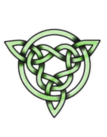 Tattooed Now! Celtic Green Knot 2