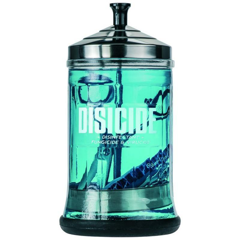 Disicide Glass Jar