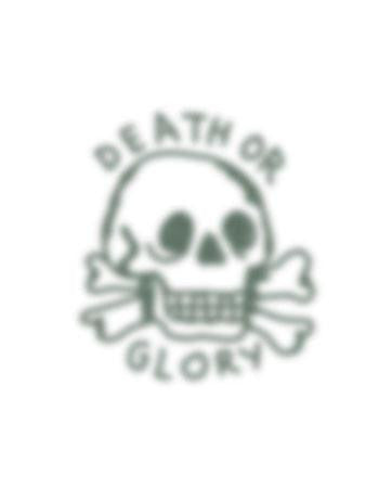 Tattooed Now! Death or Glory Skull