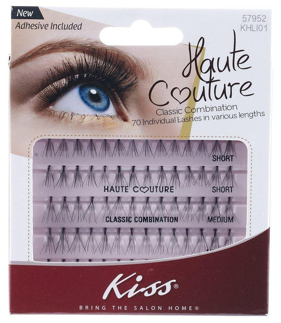 Kiss Haute Couture Individual Lashes - Classic Combination