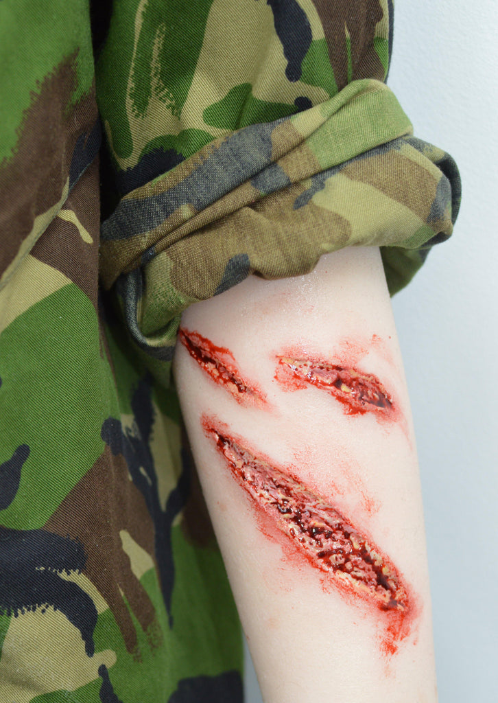 Sim Sleeve - Arm Laceration