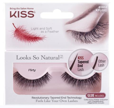 Kiss Natural Lashes - Flirty