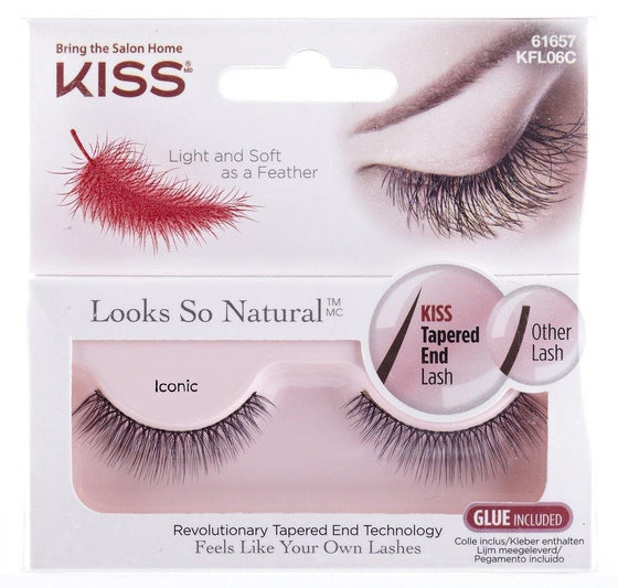 Kiss Natural Lashes - Iconic