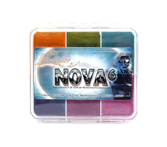 Skin Illustrator Nova 6 On Set Palette