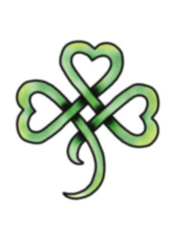 Tattooed Now! Ink Shamrock Knot