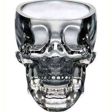 Crystal Head Skull Glass CC Cup