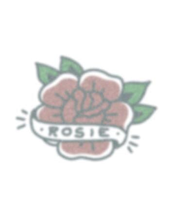 Tattooed Now! Vintage Rose (Rosie)