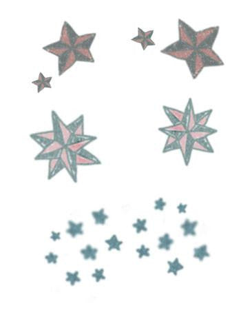 Tattooed Now! Vintage Stars Set