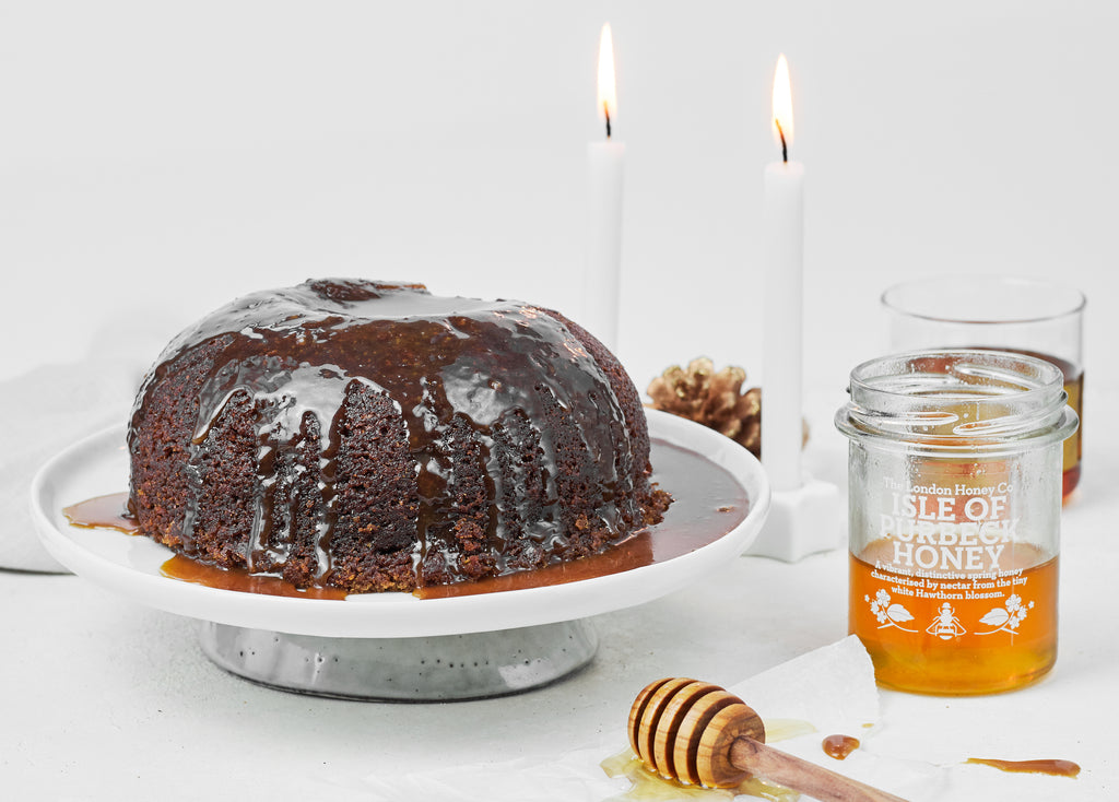Steamed Ginger & Honey Caramel Sponge Pudding