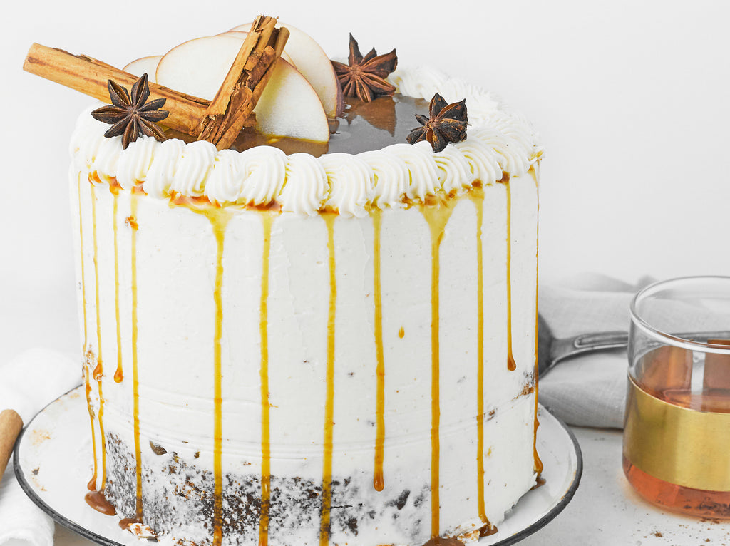 Mulled Apple & Honey Layer Cake