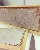 London Honey Company Ling Heather Honeycomb being prepped for the British Pullman train