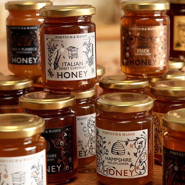 Fortnum and Mason World Raw Honeys by the London Honey Company
