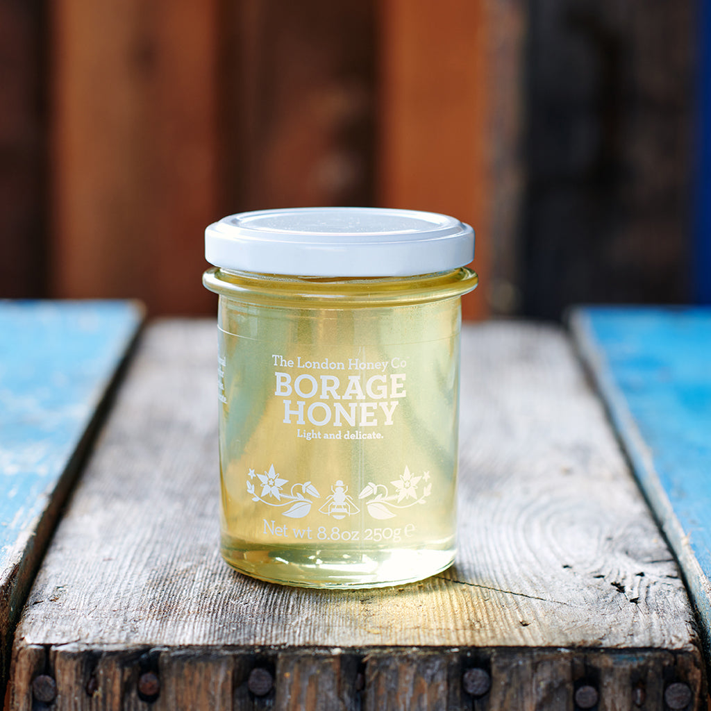 Pure Honey, Borage Jar 250g