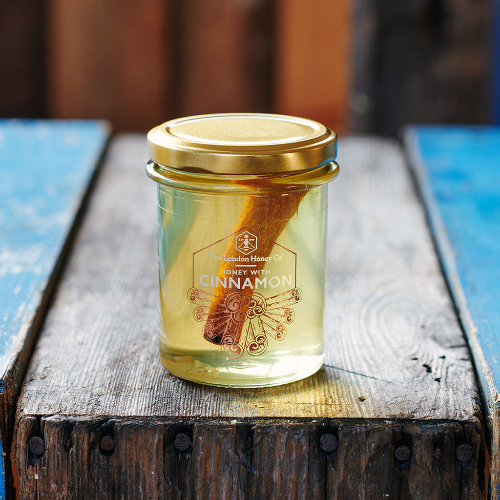 Pure Honey with Cinnamon 250g