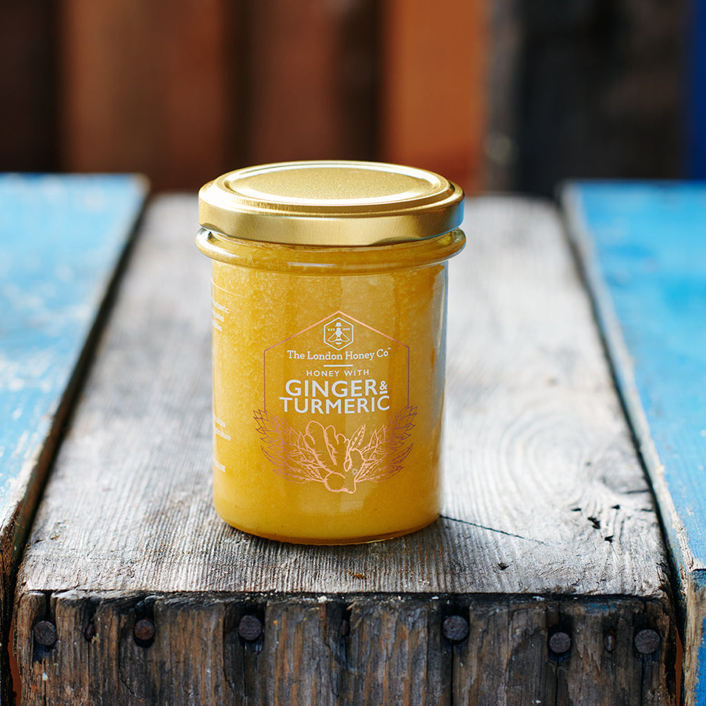 PURE HONEY WITH GINGER & TURMERIC 250G