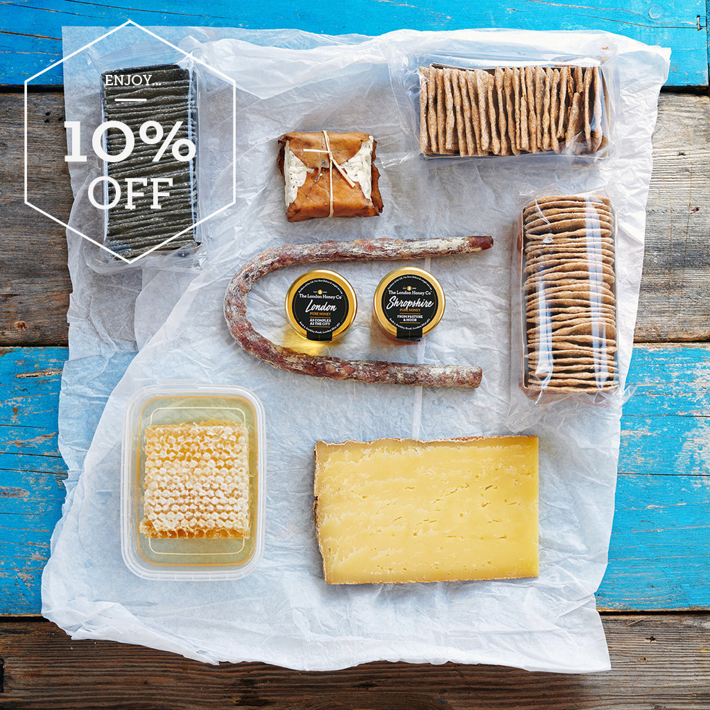 Heather Move savoury box - Cheese, Charcuterie & honey pairing
