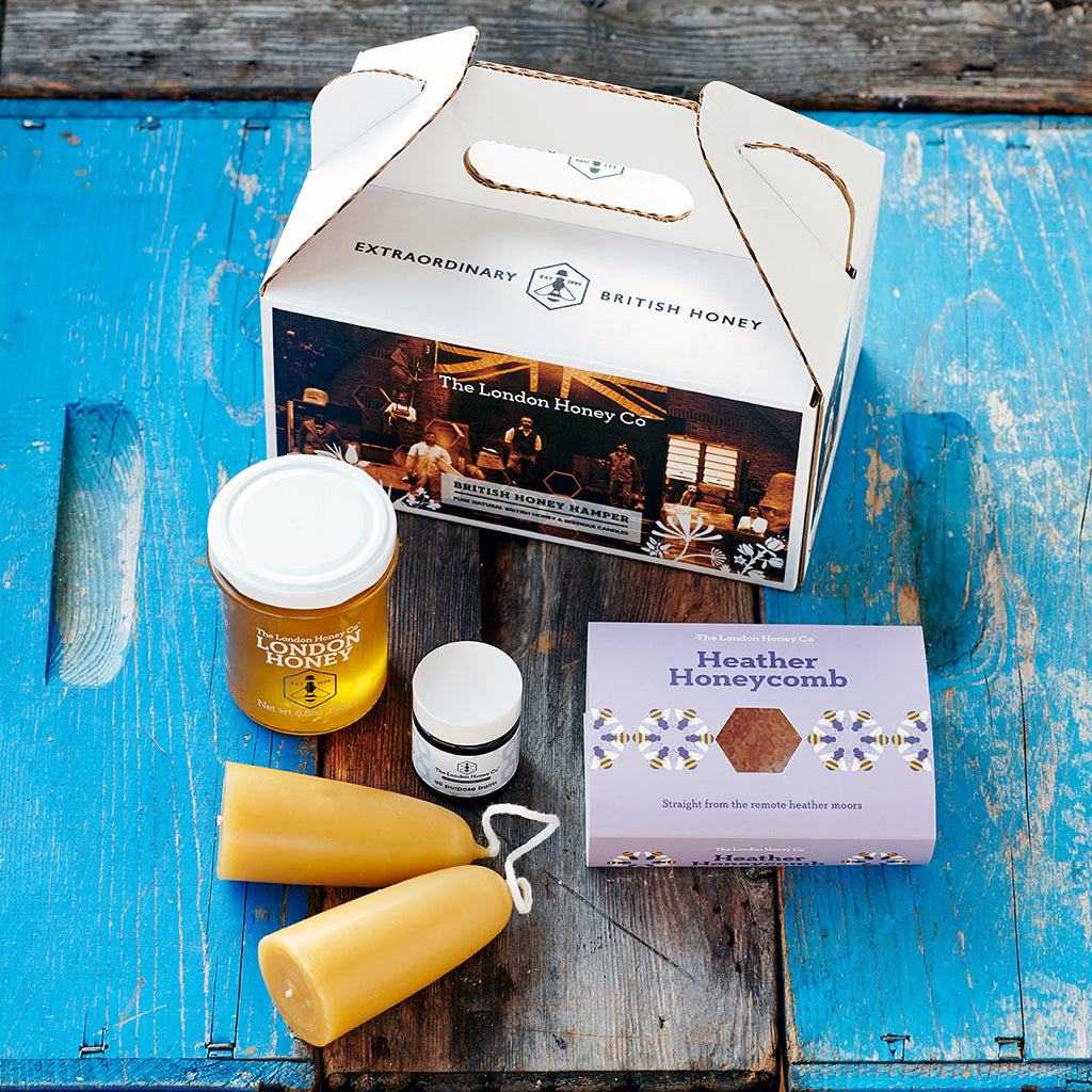British Honey Hamper - London & Heather
