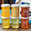 6 Jar Pure Honey Selection, Single Origin Honey